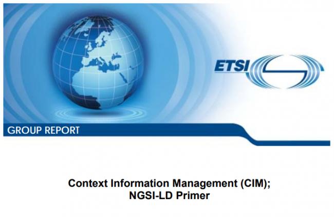 ETSI NGSI-LD primer